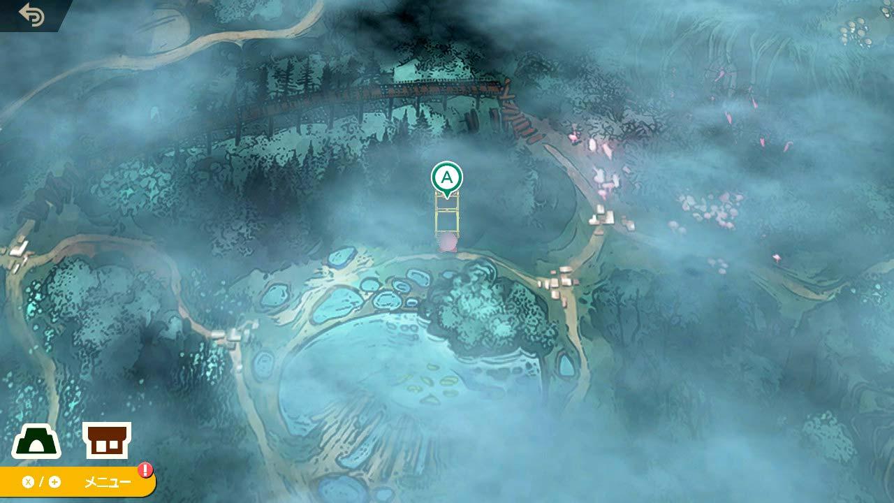 スマブラSP 森の宝 聖痕の剣士への道