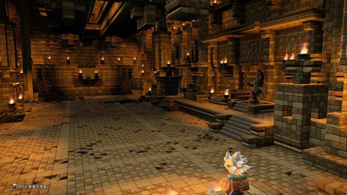 ドラクエビルダーズ2 古代神殿